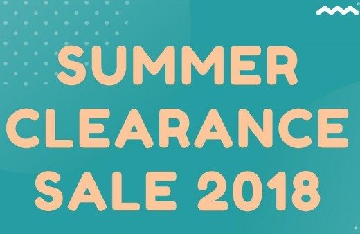 【アパレル】SUMMER CLEARANCE SALE 2018