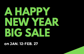 【枚方】A HAPPY NEW YEAR BIG SALE 1/12(Sat)~2/26(Tue) 2/24更新