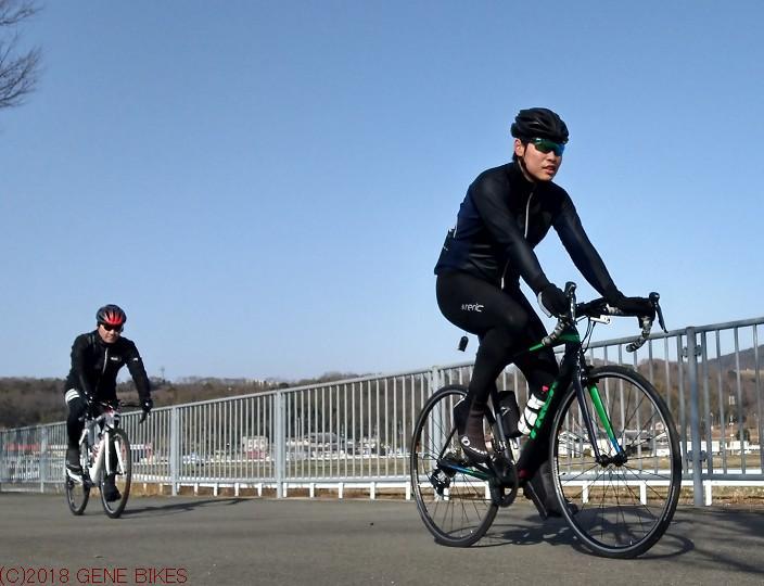 春はもうすぐ ショップライド2月12日 神戸西