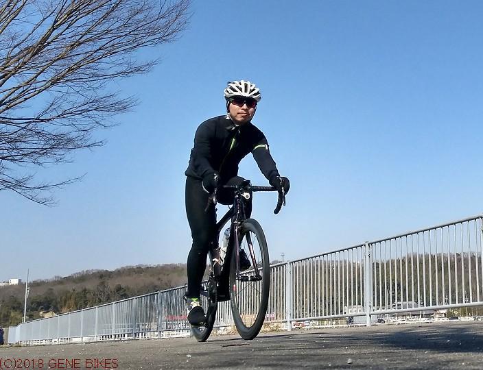 三寒四温。天候に振り回される ショップライド3月26日 神戸西