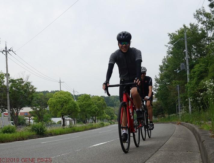 ロードバイク、楽しいですよ! ショップライド6月2日 神戸西